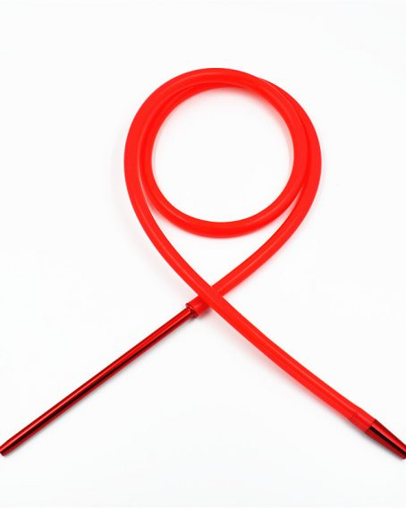 Hookah Hose Silicone Pipes red