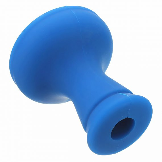 Portable New Blue Unbreakable Silicone Head bowl