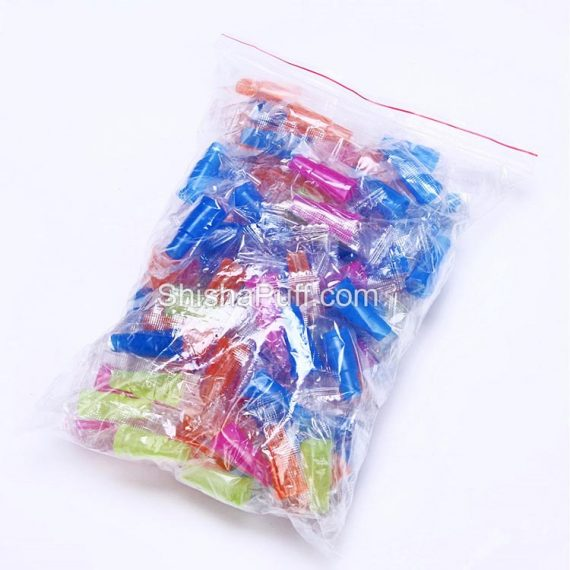 Disposable mounth tips hookah pipe smoking Colorful