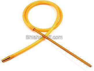 Hookah Hose Yellow Silicone Pipe Aluminum FDA