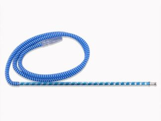 french hose shisha pipe blue