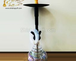 Hookah Deluxe Class Transparent M Glass Shine
