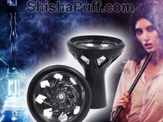 Head Glass Silicone Bowl Shisha Hookah