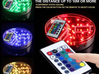 Shisha Led Narghile Bluetooth Remote Control Base