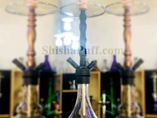 Stainless Steel Dark Shisha #SSD18