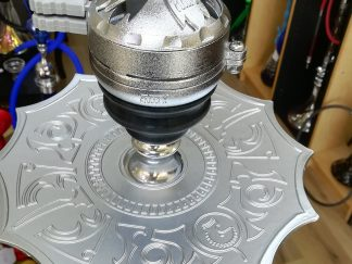 Head Metallic Kaloud Block Base for Hookah ShishaHookah Heat Management System