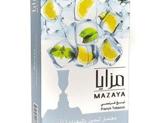 ice lemon mazaya flavour tobacco limassol shisha puff