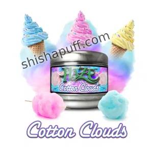 Cotton Clouds Creamy cotton candy ice cream
