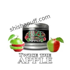 Twice the Apple World's #1 flavor has now been perfected