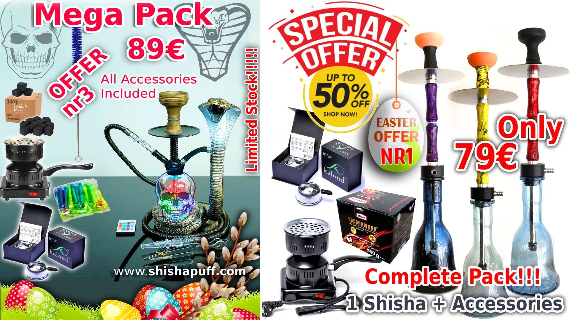 Easter Shisha shop offer