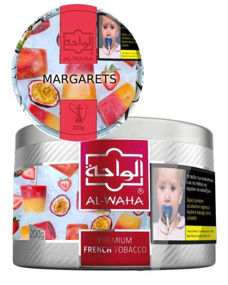 Margarets Strawberry Maracuja Ice Alwaha Shisha Puff Cyprus Limassol - Order Online 200g