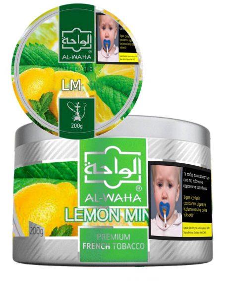 LM Alwaha Lemon mint 200g shop Limassol online cyprus