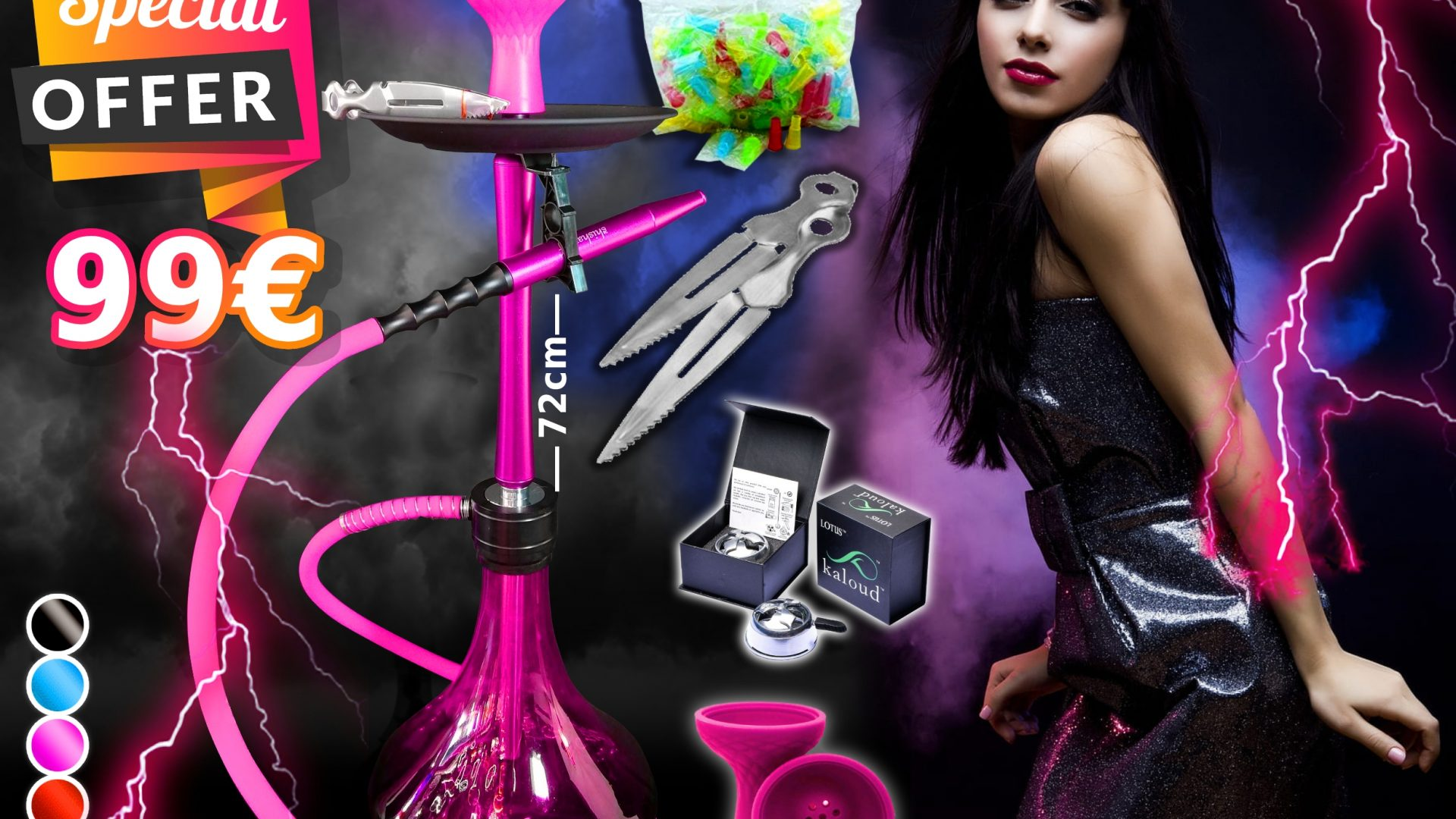 September special offer shisha Puff Cyprus
